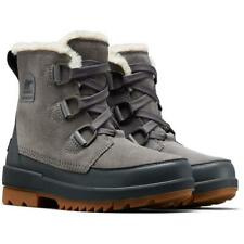 SOREL Trivoli IV Ankle Snow Boots Quarry Gray WATERPROOF Size 9 NEW