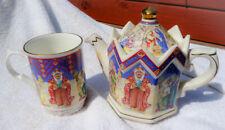 """Sadler """"The Three Kings"""" Christmas Mug & Tea Pot Set, England"""