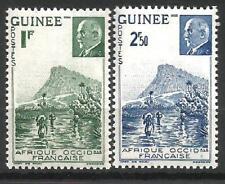 GUINÉE 1941  YT  n° 176 et 177 neufs ★★ Luxe  /MNH
