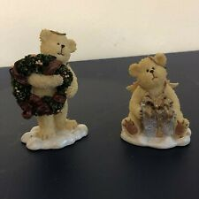 Boyds Bears & Friends 2 Items Christmas