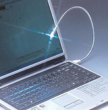 LAMPADA FLESSIBILE COMPUTER USB LED NOTEBOOK PC  LUCE