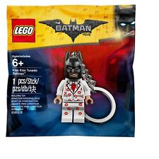 Lego BATMAN Mini Figure Keychain Kiss Kiss Tuxedo Movie Merchandise