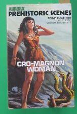 Aurora Original 1971 Prehistoric Scenes CRO-MAGNON WOMAN Model Unbuilt with Box