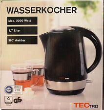 TECTRO Wasserkocher 1,7L MAX. 2200 Watt (HC119)