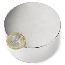 Super Magnete Disco al Neodimio dimens. 70 x 35 mm Potenza 140 Kg Magnetoterapia