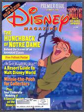 Disney Magazine Summer 1996 The Hunchback of Notre Dame Resorts Winnie the Pooh