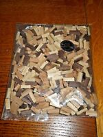 HO-O-S scale firewood loads for hopper and gondola cars