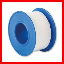 WHITE ADHESIVE FABRIC TAPE FIRST AID 1.25 CM X 5M  QUALITY CE MARK