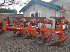 KUHN/HUARD 4 FARROW PLOUGH, GOOD USED CONDITION