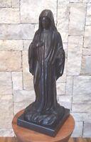 Beautiful Large Bronze Of Madonna