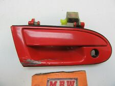 OUTER DOOR HANDLE RED STEALTH 3000GT PASSENGER SIDE RIGHT FRONT OEM R RH RF CAR