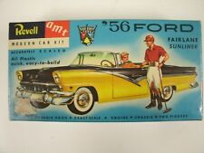 Vintage Revell AMT 56 Ford 1:32 Scale Model Kit #H-1202-6 ''S''