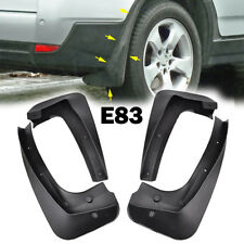 For BMW X3 E83 2006-2010 OE Styled Mud Flaps Splash Guards Car Mudguards Fender