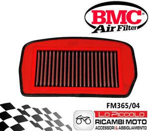 FM365/04 FILTRO BMC ARIA YAMAHA FZ6 600 2004 2005 2006 LAVABILE RACING SPORTIVO