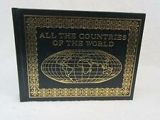 Annelise Hobbs ALL THE COUNTRIES OF THE WORLD 2006 Easton Press Leather