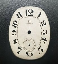 Omega Vintage oval metal watch dial 3 0/s (28)