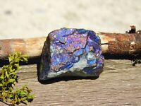 Peacock Ore Bornite Blue Purple Iridescence 85g to Cleanse & Balance Energy