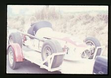 Al Unser #5 Dunlop/Offy on Trailer - 1968 USAC - Vintage 35mm Race Slide