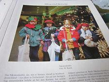 Bremen Archiv 6 Alltag 6015 Nikolauslaufen Foto Busch
