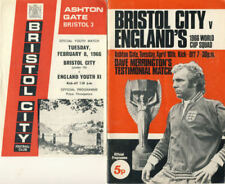 World Cup Football Friendly & Pre-Season Fixture ProgrammesMemorabilia