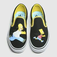Vans classic slip-on Simpsons Men's Trainers in Black & White  / Limited Stock