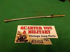 Jeep Willys MB GPW Clutch cable Correct for the T84 transmission