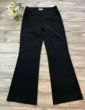 DKNY • Black Bootcut Stretch Trousers • Size 10 • New With Tags