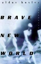 Brave New World by Aldous Huxley (1998, Paperback) ex-library book