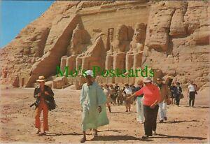 Egypt Postcard - Abou Simbel Rock Temple of Ramses II -  RRR1115