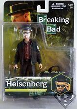 "WALTER WHITE HEISENBERG with BLUE CRYSTALS Breaking Bad 6"" Figure Mezco 2013"