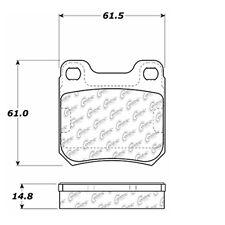 105.07090 - Centric Posi-Quiet Ceramic Disc Brake Pad Set W/HDW Free Shipping!