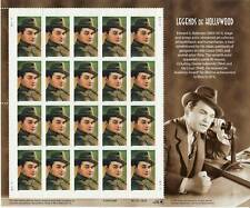 EDWARD G. ROBINSON STAMP SHEET -- USA #3446 2000 LEGENDS OF HOLLYWOOD
