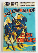Two Legionnaires (France) FRIDGE MAGNET (2 x 3 inches) movie poster laurel hardy