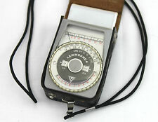 LENINGRAD 4 EXPOSURE METER AND CASE. tested and working