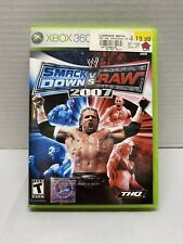 WWE SmackDown vs. Raw 2007 - Xbox 360 - TESTED AND WORKS