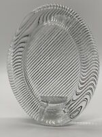 """Mikasa Polished Portraits Crystal Oval Picture Frame 6.25"""" X 5"""" (clear glass)"""