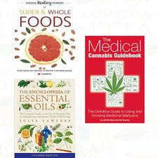 Medical Cannabis Guidebook Collection 3 Books Set Hidden Healing Powers Of Super