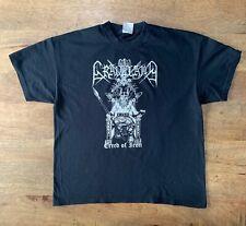 GRAVELAND RARE VINTAGE shirt satanic warmaster veles varg goatmoon taake
