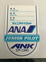 All Nippon Airways - Japan  Junior wings pin badge plastic ANA-01