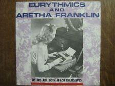 EURYTHMICS ARETHA FRANKLIN 45 TOURS GERMANY I LOVE YOU