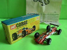 CORGI TOYS 158 LOTUS  FORMULA 1 - IN BOX - 1:43   IN  NEAR MINT  CONDITION