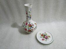 Vintage Norstock Ceramics Bud Vase & Kirsty Jayne Cup Coaster