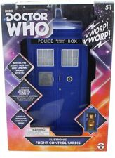 """DOCTOR WHO 12th (Peter Capaldi) FLIGHT CONTROL TARDIS (5"""" Scale) - New in Box"""