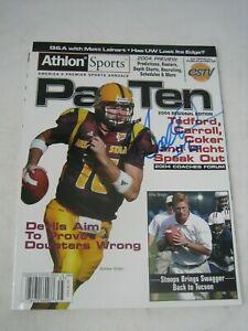 ANDREW WALTER SIGNED ATHLON SPORTS 2004 MAGAZINE ARIZONA SUN DEVILS QB FOOTBALL
