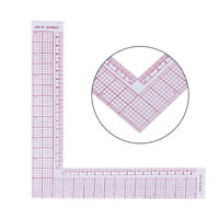 MULTI-FUNCTION RULER DIY SEWING SQUARE CURVE TAILOR DRAWING CRAFT TOOL CHEERFUL