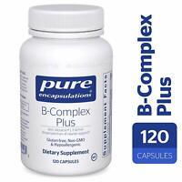 Pure Encapsulations - B-Complex Plus 120 Capsules