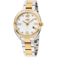 Fendi Momento Quartz Movement White Dial Ladies Watch F218134500D1