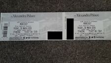 2x Morrissey Tickets for Alexandra Palace
