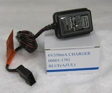 Power Wheels 6V BLUE Battery Charger 00801-1781 ONE YEAR WARRANTY FISHER PRICE*