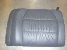 PORSCHE 911 996 Coupe Sedile Posteriore Sede Lehne a sinistra in Pelle Grigio siderale b50 99652201103